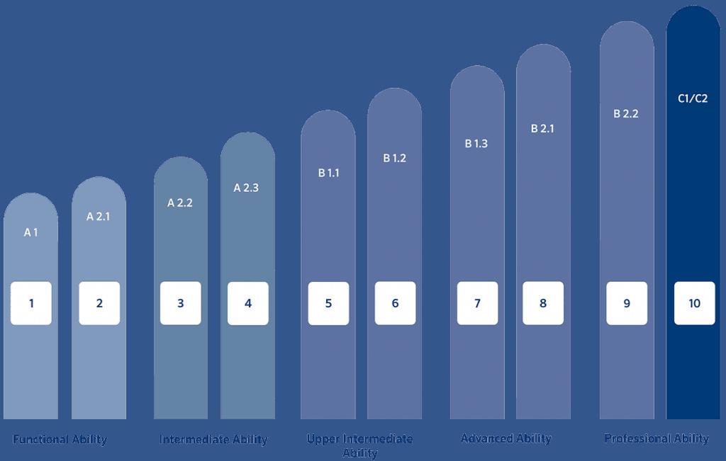 CEFR Level & Berlitz Level -- Simplified